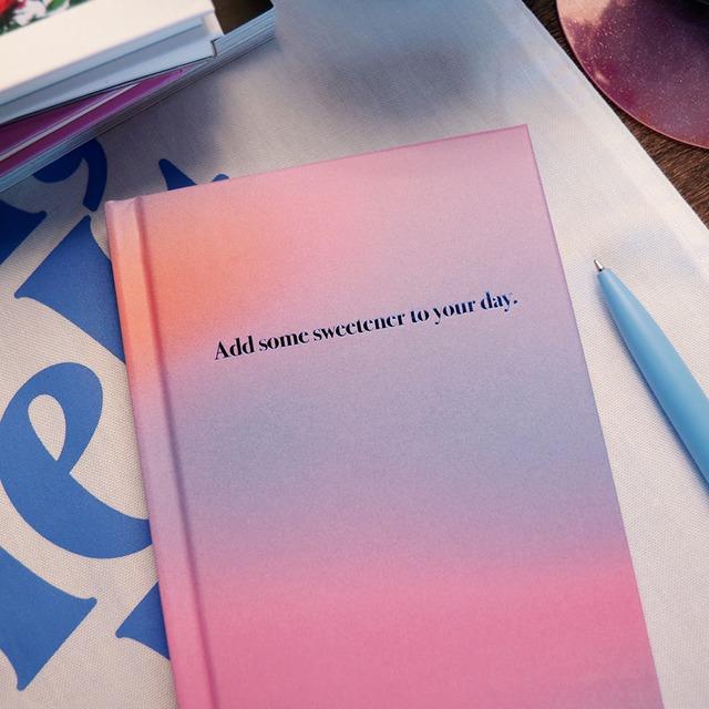 「ADD SOME」ハードカバーノート