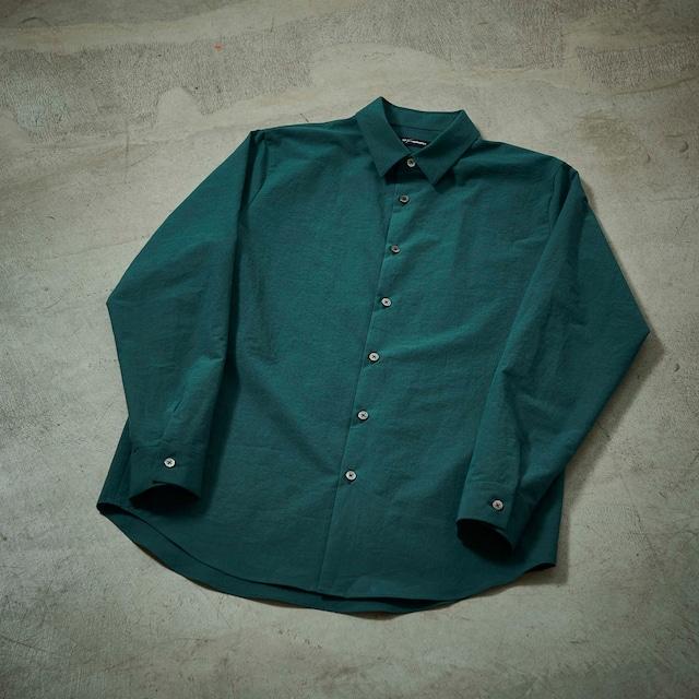 tilt The authentics / Undecorated Shirt(DARK GREEN)
