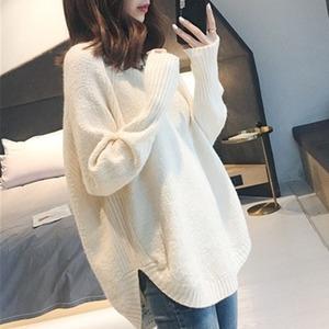 【トップス】合わせやすい カジュアル シンプル 韓国系 Vネック 長袖 セーター52324319