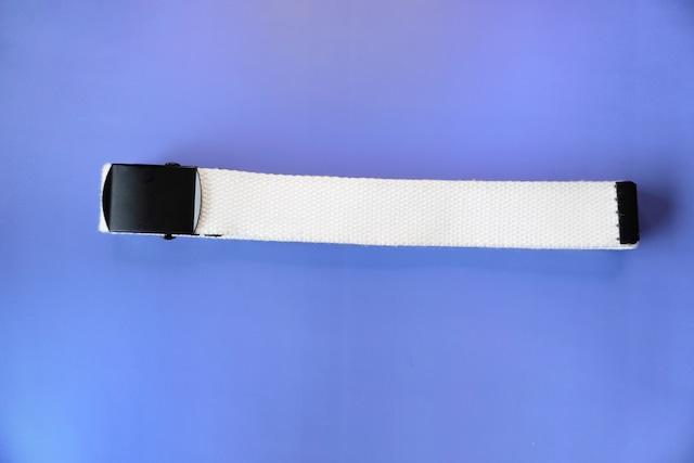 US type easy belt   White
