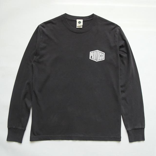【SALE】ロングスリーブTシャツ PROVINCIA  ヴィンテージブラック