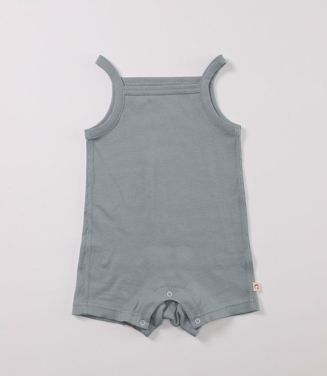 【ベビー服】綿シルクテレコキャミロンパース / トワイライトブルー / 70~80サイズ