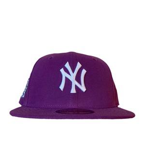 NEW ERA New York Yankees Subway Series 59Fifty Fitted /Purple×White (Ice Blue Brim)