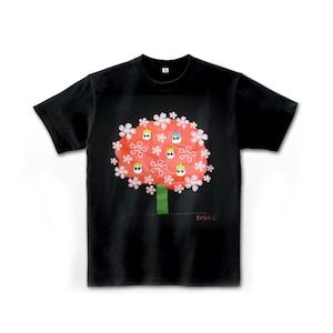 嘉門達夫 Tシャツブラック[ts009]