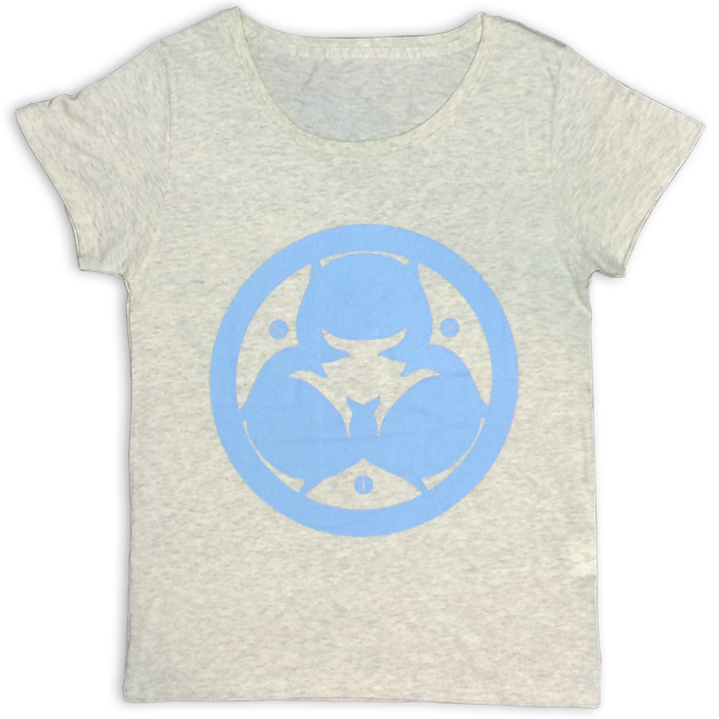 「ピノキオピー2015年祭りだヘイカモン」Tシャツ(レディース/オートミール) - 画像1