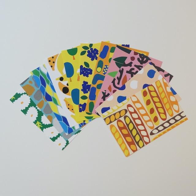 ハッピーカラー ポストカード11枚セット