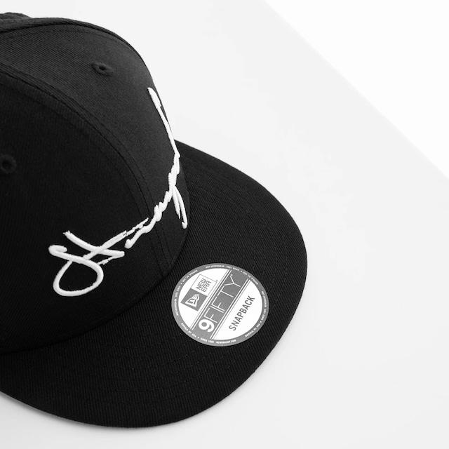 STAMPD × NEW ERA / SCRIPT SNAPBACK CAP