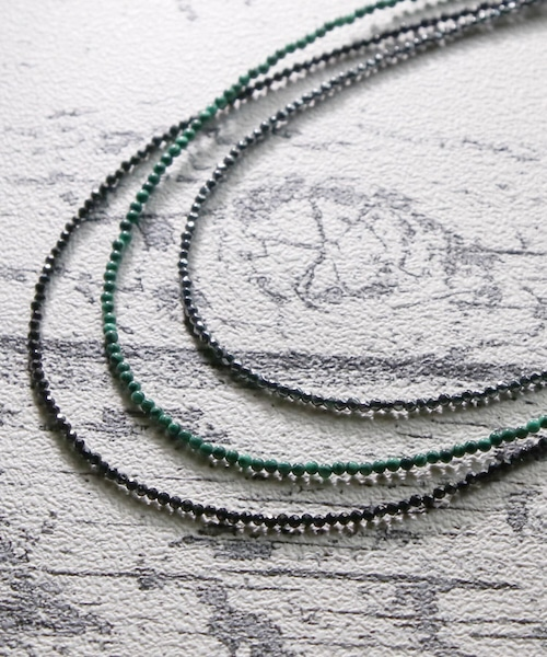 E1905GVN2627【ego na ghai/エゴナハイ】small stone necklace/スモールストーンネックレス