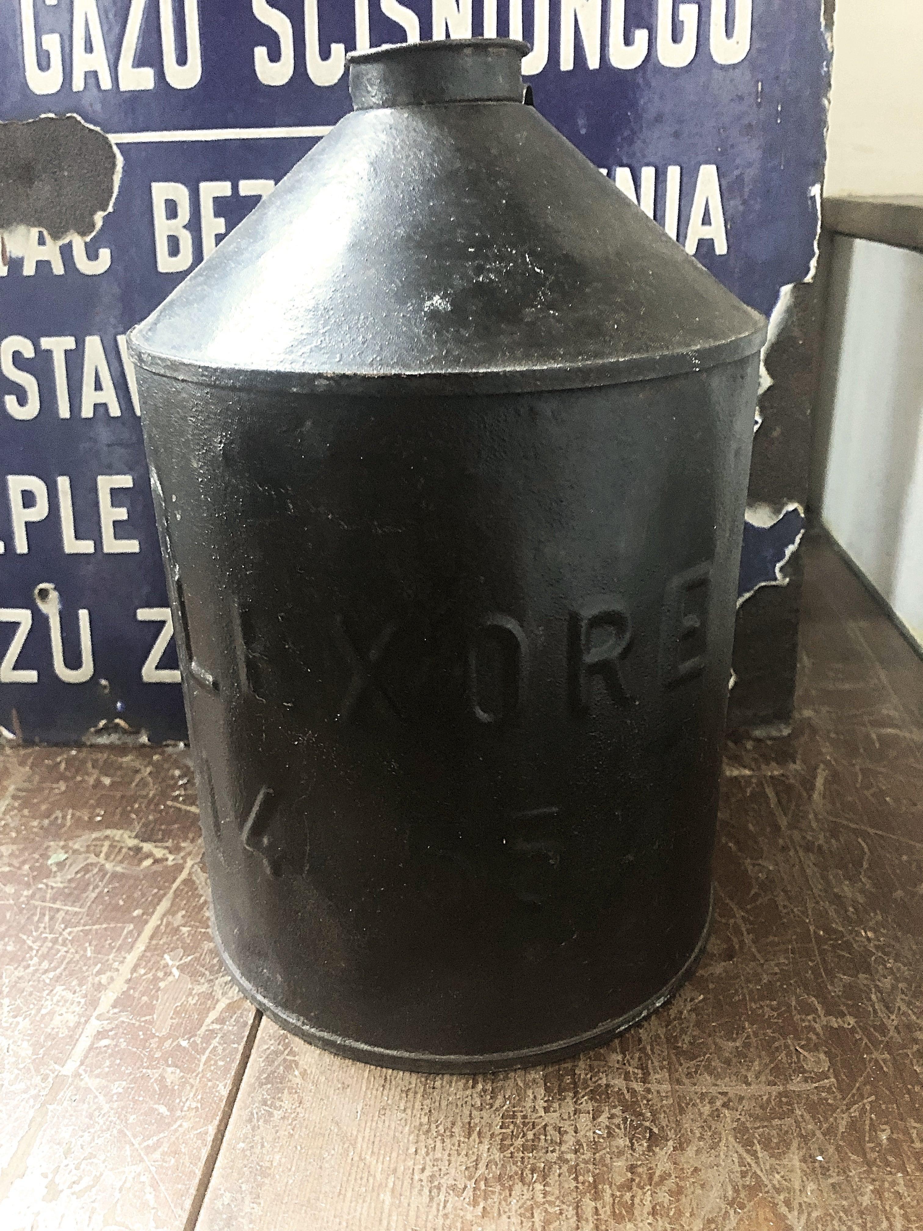 SILEXORE1455 ブリキ缶