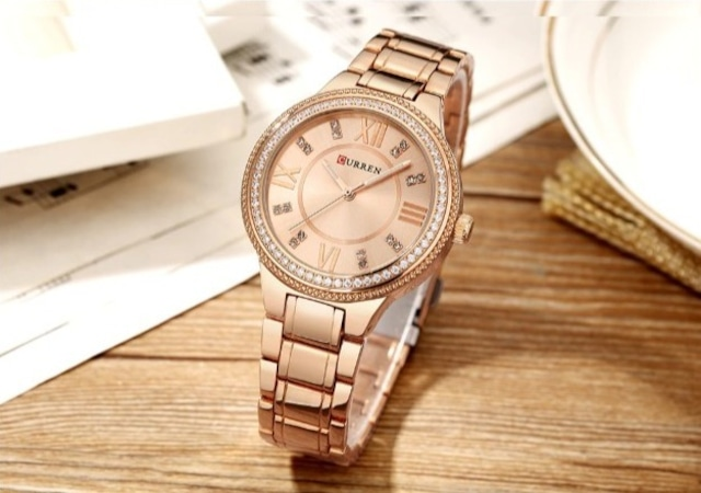 CURREN LT-C9004(rose) レディース腕時計