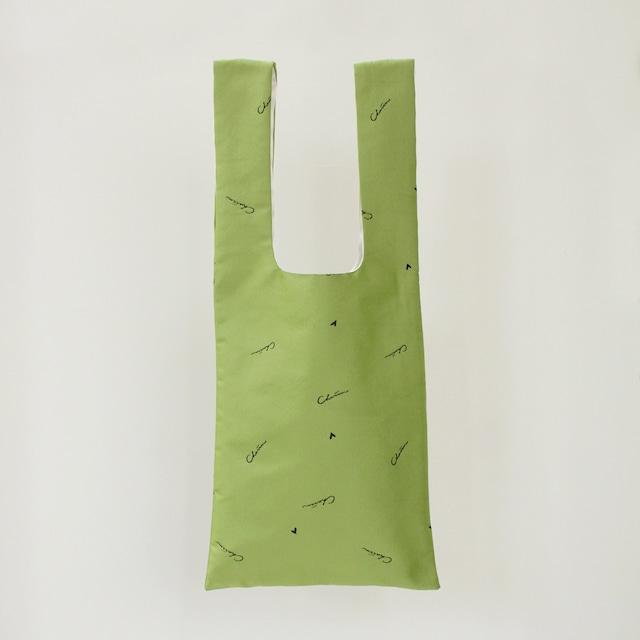 Charrm Original logo bag NO.1  -Lime