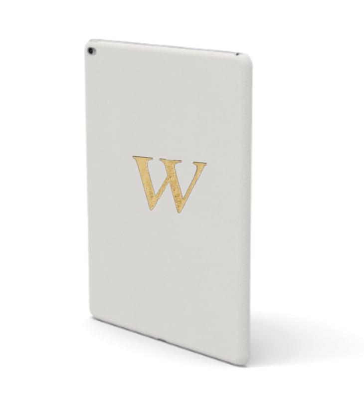 iPad Premium Smooth Leather Case (Cotton White)