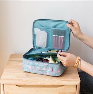 5007化粧ケース旅行 トラベルポーチ バッグ 洗面用具 収納 洗面道具 化粧品 海外旅行 コスメバッグ 出張化粧箱化粧ポーチ
