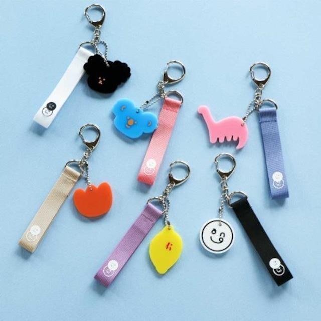 7321(5800)キーホルダー キーリング puro key ring