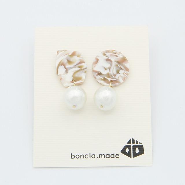 boncla.made/ボンクラメイド/パールピアス/161