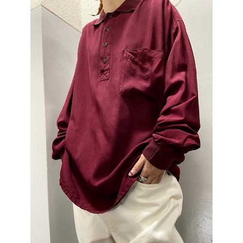 80's〜 Neiman Marcus シルク ポロシャツ
