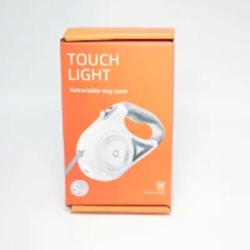 犬 お出かけ お散歩グッズ LEDライト付き リード ペット 簡単操作