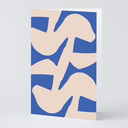 WRAP / ABSTRACT 7 ART CARD -Illustrated by Antti Kekki-