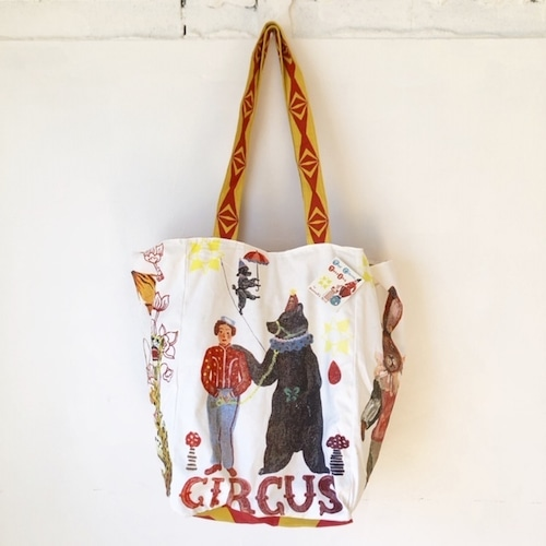 "Nathalie Lete ""Circus Market Bag"" ナタリーレテ サーカス マーケットバッグ"