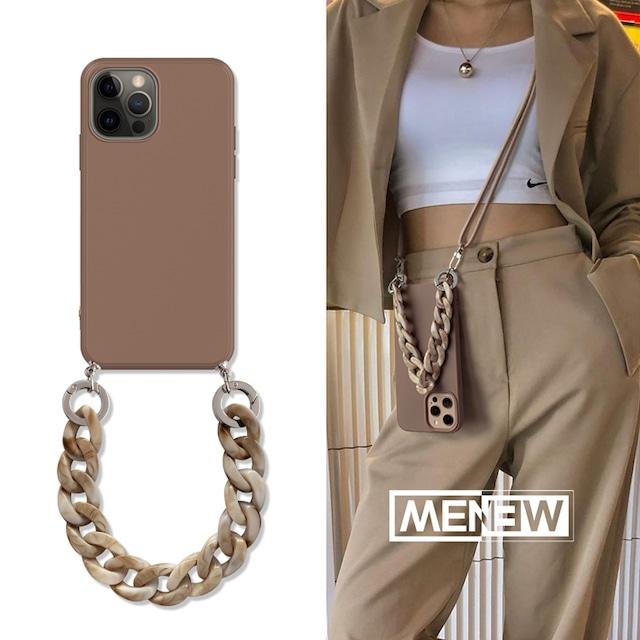 【再販商品】ストラップ付き♪ Luxury fashion iphone case