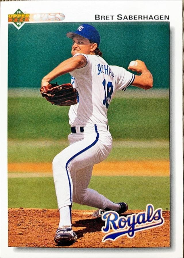 MLBカード 92UPPERDECK Bret Saberhagen #233 ROYALS