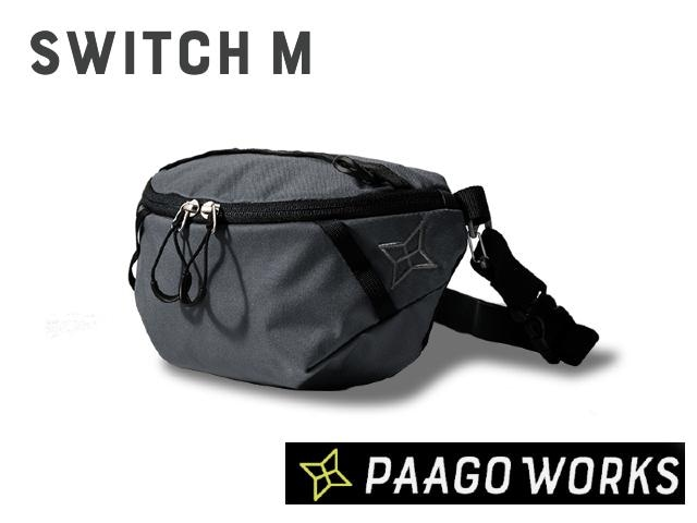【paagoworks】 SWITCH M UG(Urban Gray)