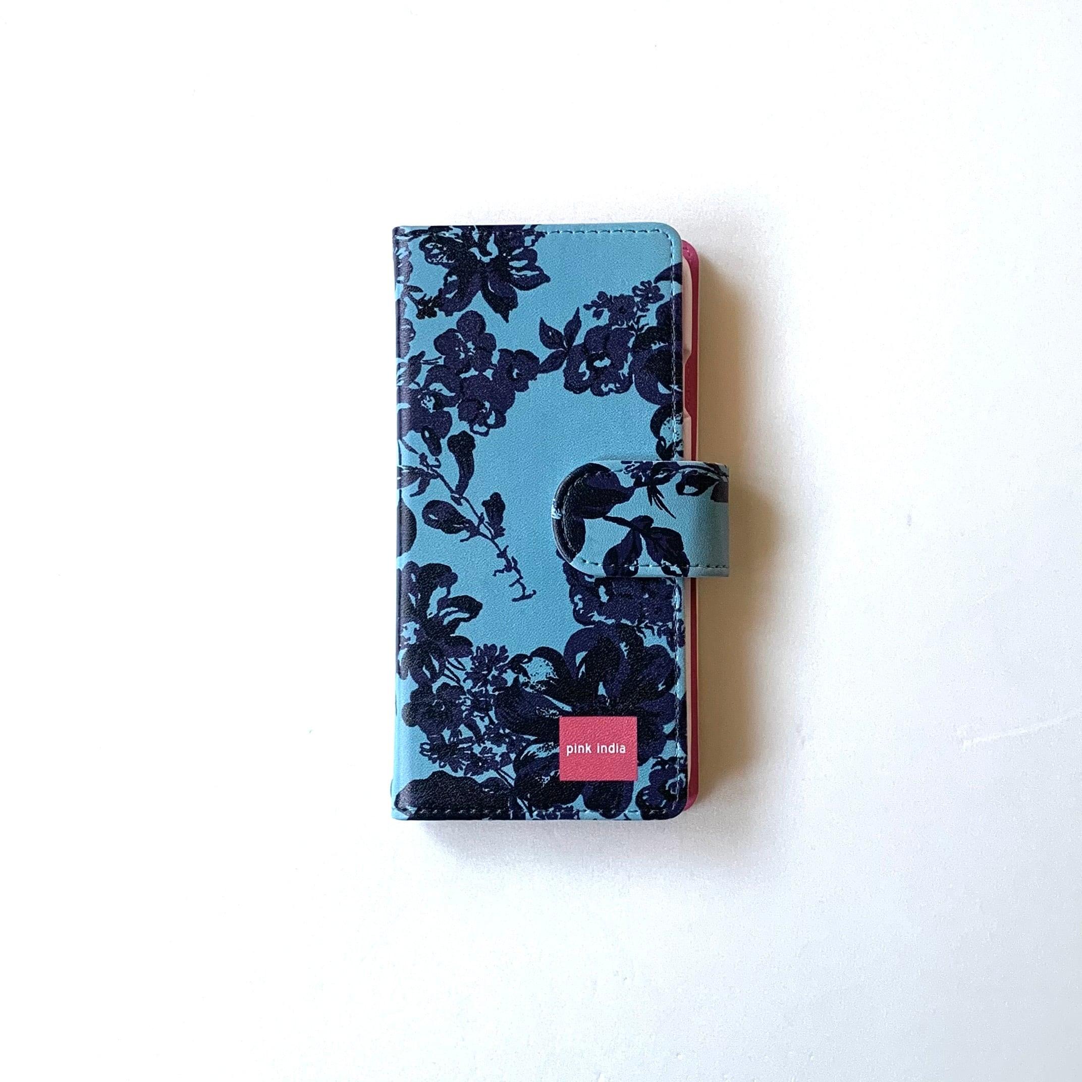 北欧デザイン Android対応手帳型マルチケース  | stella blue