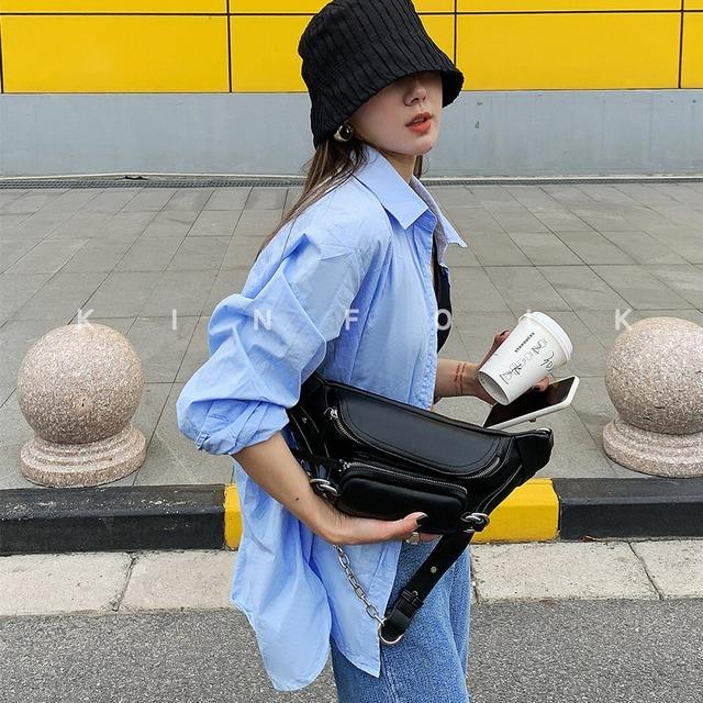 【小物】PUファッションストリート系カジュアルバッグ45962782