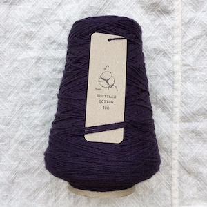 i t o - RECYCLED COTTON 100 - / D.PURPLE