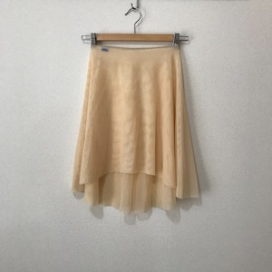 ◆Minimalist Ballet Skirt: Tea Latte (ミニマリスト・プルオンバレエスカート(ティーラテ))