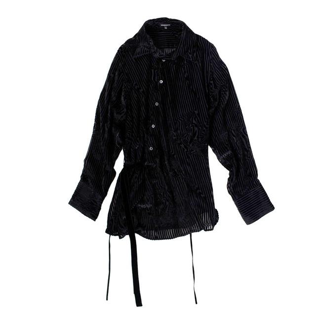 ANN DEMULEMEESTER Black Shirt Unisex