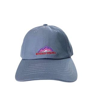 Mountain オリジナルNEWロゴ キャップ / Gray Blue