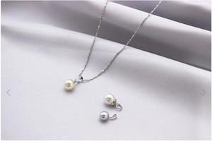 プチ デイリースリーピース764  あこや真珠ネックレス
