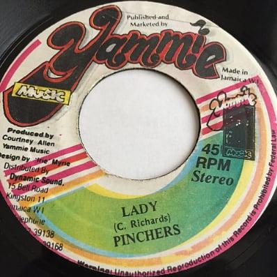 Pinchers(ピンチャーズ) - Lady【7'】