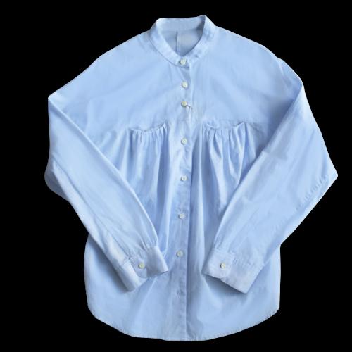 タックポケットシャツ