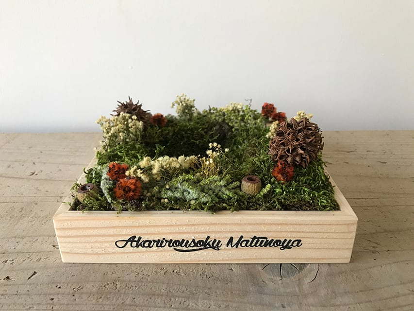 No.224 flower candle stand | gift box 5700