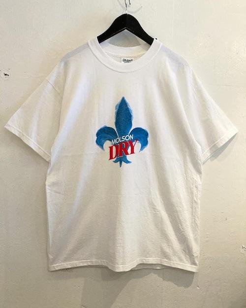 MOLSON プリントTシャツ