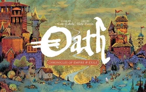 (予約商品 2021年上旬入荷予定)Oath: Chronicles of Empire and Exile 和訳説明書・シール付き