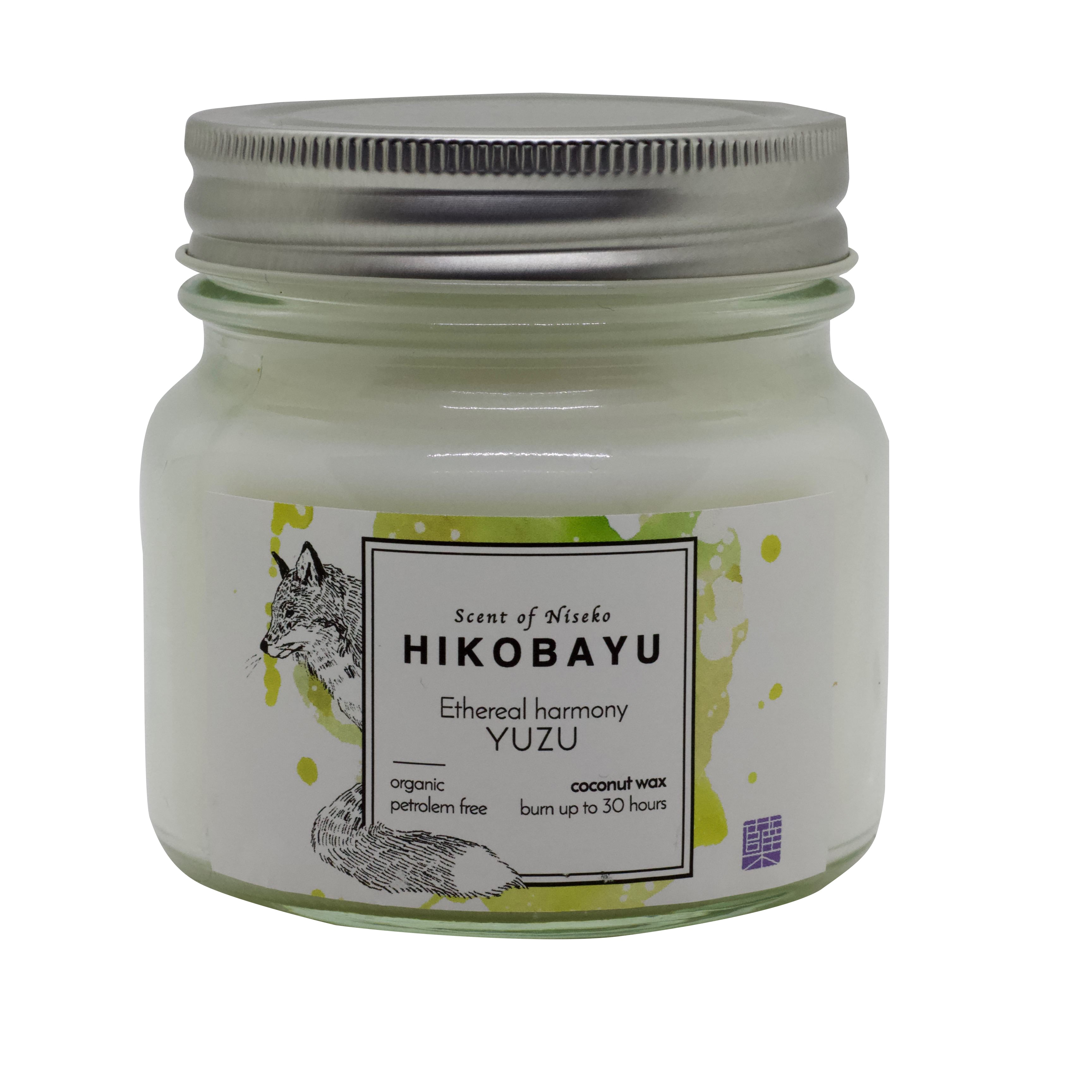 YUZU トドマツオーガニックキャンドル  ETHEREAL HARMONY  CANDLE  30 hour