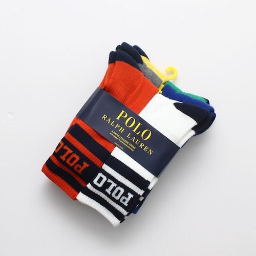 Polo|College Logo Socks (6p set)