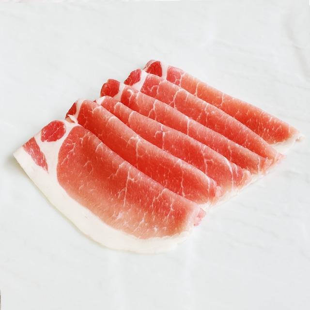 豚ロース|薄切り:100g【国産】