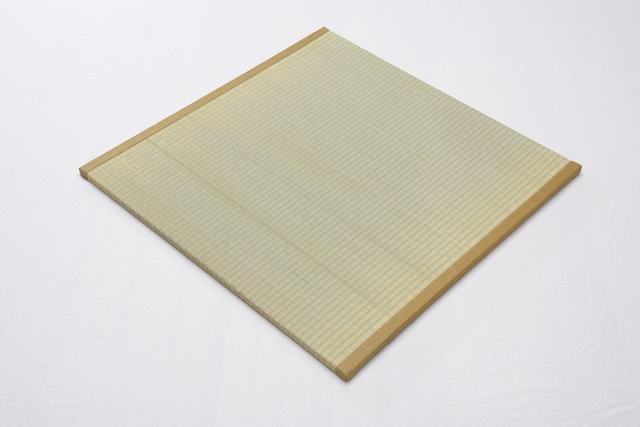 半帖畳 表目 ミストグリーン 約85x85x2.5cm