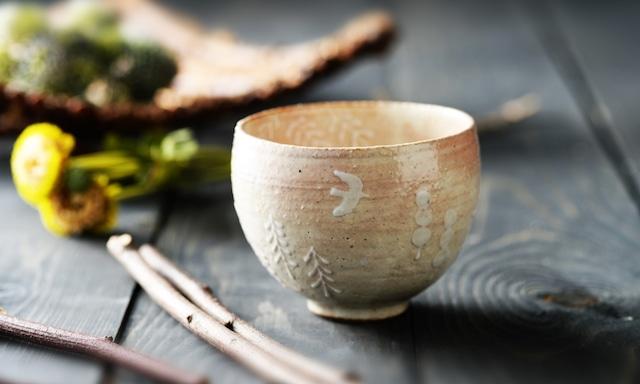雫の森 | 陶器 | 雲のむこう | フリーカップ |こむろしずか