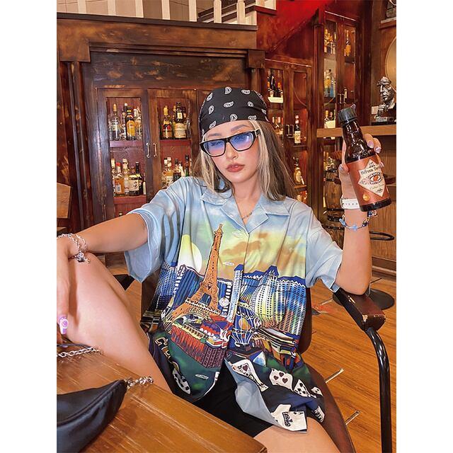 【BeerBro】『Las Vegas』半袖シャツ