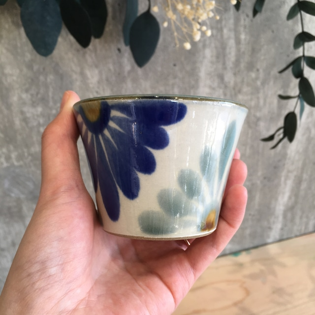 『育陶園』フリーカップ円染付