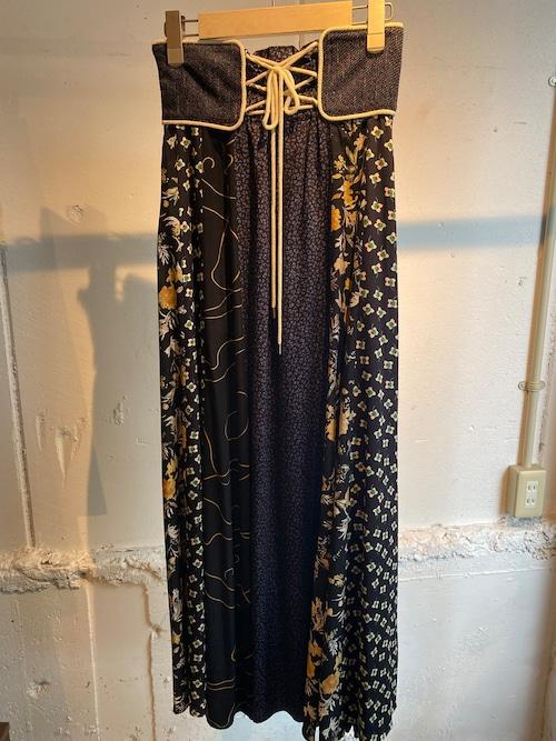 FUMIE=TANAKA    patch long skirt