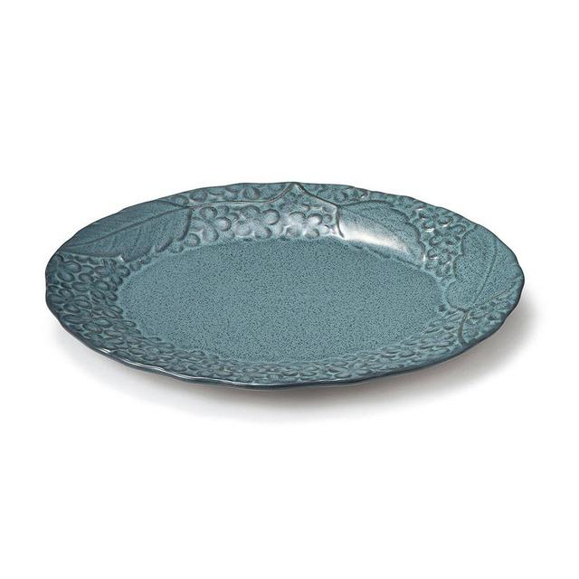 aito製作所 「リアン Lien」オーバルプレート 皿 約25×20cm アクア 美濃焼 267859