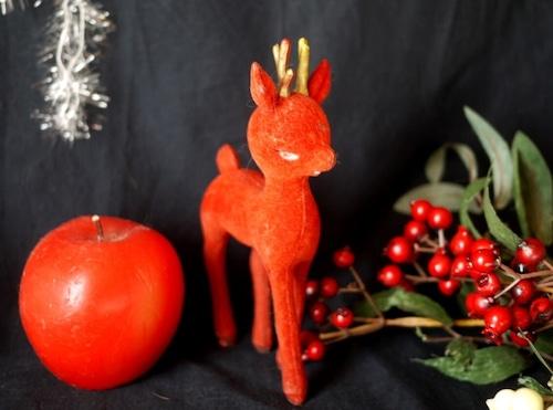赤いトナカイ フロッキー 英国クリスマス '60