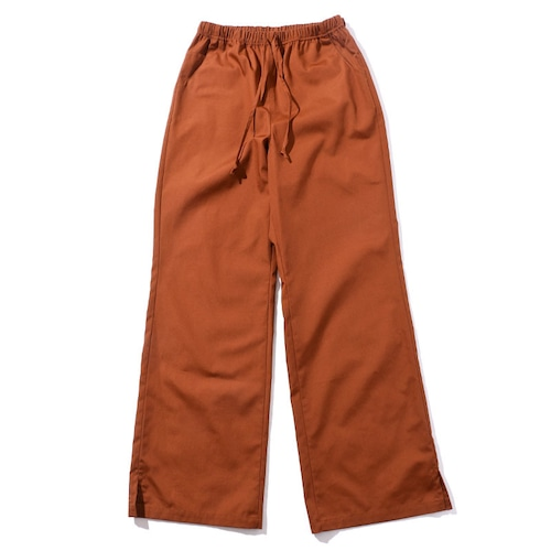 COTTON EASY PANTS [BROWN]