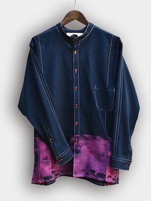Printed Dolman sleeve SH (PINK) / プリンテッド ドルマンスリーブシャツ